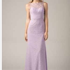Wtoo Sleeveless Prom Bridesmaid Formal Dress